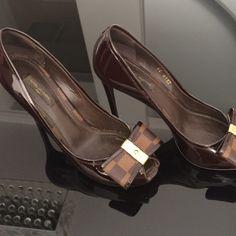Dressbe | Sapato Louis Vuitton #shoes #moda #fashion #chic #lv #louisvuitton