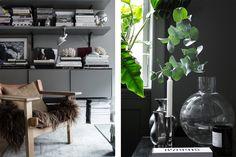 En titt in i Lotta Agatons lägenhet – ja den som fick oss måla grått Scandi Living Room, Living Spaces, Interior Stylist, City Living, Something Beautiful, Stockholm, Interior Inspiration, Home Goods, Design