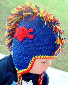 Crochet Mohawk Hat by bevinwest on Etsy, $22.00