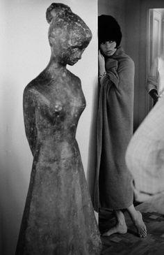 "Brigitte Bardot dans ""Le Mépris"" (Jean-Luc Godard, 1963)"