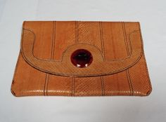 Leather-Clutch - Vintage Finds You Vintage Bags, Vintage Handbags, Leather Clutch, Finding Yourself, Gifts, Accessories, Presents, Classic Handbags, Soul Searching