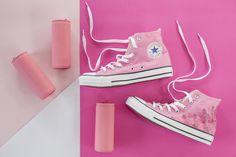 Airavata SWimwear for converse Modo rosa chunks campaign