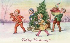 Vintage Hungarian Christmas