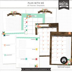 Plan with Me   The Planners by Mari Kogelenberg at The Digital Press