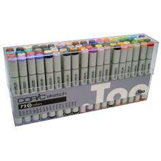 COPIC Sketch Marker Sets - JerrysArtarama.com Sets A, B, C, D & E