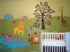 Choose A Theme With Baby Room Decorating Ideas