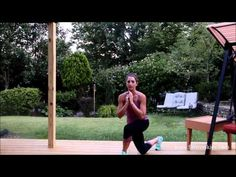 How to do skater lunges - YouTube