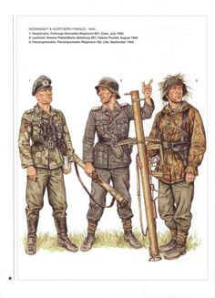 The German army in WWii