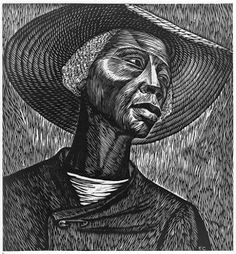 art lessons focused on African American artists.  Pen and ink project.  This is one of my favorite pictures.