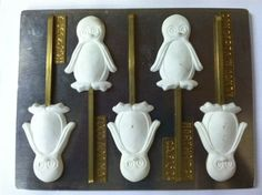 Penguin lollipop C159 Christmas Chocolate Candy Mold * Click affiliate link Amazon.com on image to review more details.