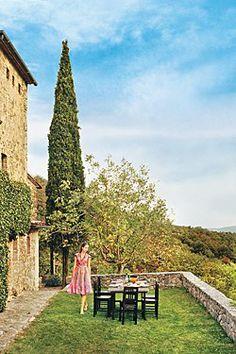 Conde Nast Traveler March 2013 Cover, Villa Podere Alto, Tuscany