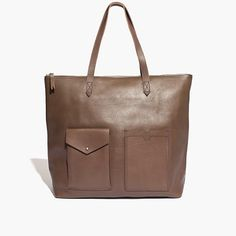 Madewell - The Zip Transport Tote with Pockets