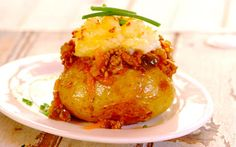 Cottage Pie Baked Potatoes recipe | Meat recipes | Whats For Dinner