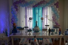 Disney Frozen Birthday Party Ideas | Photo 11 of 13 | Catch My Party