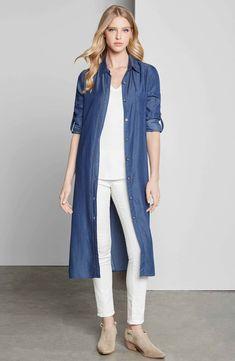 Blue Jean Shirt Dress