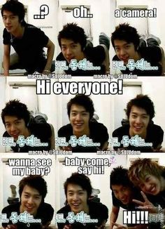 Super Junior Macros Hyukkie~ I love you so much, but we all know I'M Hae's baby~ XD