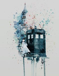 The Doctor (Doctor Who) I Am The Doctor, Doctor Who Fan Art, Doctor Who Quotes, Doctor Who Tardis, Die Tardis, Tardis Art, Tardis Blue, 13th Doctor, Eleventh Doctor