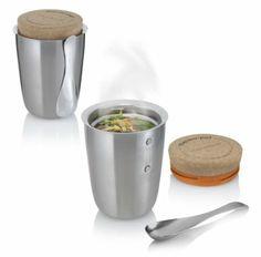 Termoska se lžičkou Black + Blum Thermo-Pot, 500 ml Kitchenware, Tableware, Serveware, Pots, Deco Originale, Food Jar, Food Containers, Kitchen Gadgets, Kitchen Tools