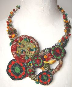 Textile Collection 2007 - necklace - Tota Reciclados