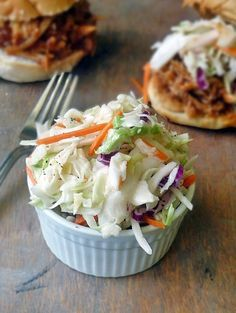 The Best ColeSlaw Ever by Life Tastes Good is surprisingly simple to make and uses very few ingredients. It is sweet and tangy and pure coleslaw perfection! Not the best coleslaw ever. Side Dish Recipes, Side Dishes, Beste Burger, Great Recipes, Favorite Recipes, Cooking Recipes, Healthy Recipes, Coslaw Recipes, Chicken Recipes