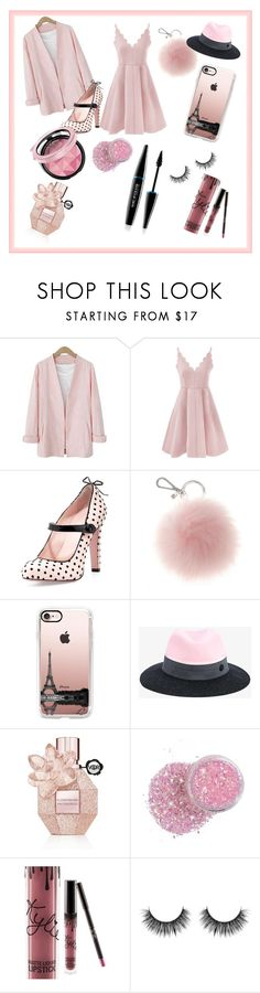 """""""Love"""" by explorer-14579595798 on Polyvore featuring мода, RED Valentino, Casetify, Maison Michel, Viktor & Rolf, Kylie Cosmetics и MAKE UP FOR EVER"""
