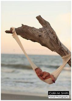 Newborn Beach Baby