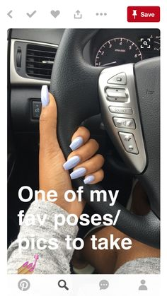 Coffin nail with Essie's Virgin Snow polish Gorgeous Nails, Love Nails, How To Do Nails, Fun Nails, Pretty Nails, Essie, Nagel Gel, Nails On Fleek, Manicure And Pedicure