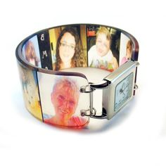 Bracelet de souvenir photo personnalisé montre. Vos par BuyMyCrap, $68.00