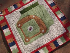 Red Sox Quilt
