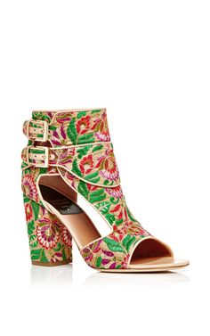 Rush Boheme Embroidered Sandals  by LAURENCE