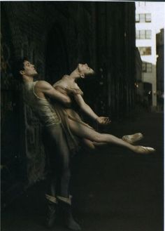 roberto bolle and alessandra ferri  elegant beautiful and flowing