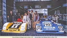 LM - The Alpine Renault and the Mirage Renault Sports Car Racing, F1 Racing, Road Racing, Alpine Renault, Renault Sport, Ford Gt40, Can Am, Porsche, Classic Race Cars
