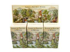 Muschio (Musk) Perfumed Body Soap Bar Collection by LErbolario Lodi (3 - 3.5oz Soap Bars)