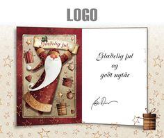 ekortet.dk leverer danmarks flotteste elektroniske julekort til virksomheder. På billedet: Julekort med logo. Julemand. Julegaver.Ekort, e-kort, e-julekort, ejulekort, elektroniske julekort, ecard, e-card, firmajulekort, firma julekort, erhvervsjulekort, julekort til erhverv, julekort med logo, velgørenhedsjulekort, julekort