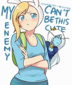 My enemy can't be this cute!
