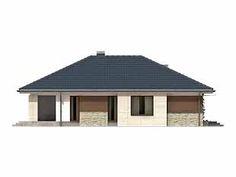 Aster idealny parterowy dom z tarasem dla 4-osobowej rodziny - Jesteśmy AUTOREM - DOMY w Stylu Gazebo, Outdoor Structures, Houses, Kitchens, Kiosk, Pavilion, Cabana