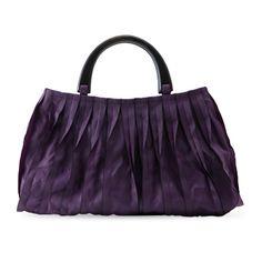 KAGURAYA/トートバッグ 濃紫 15540yen 畳縁が織り成すドラマティックなバッグ