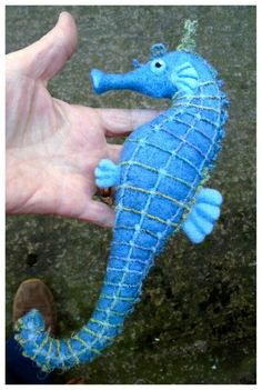 And another needle felted seahorse - SShaw