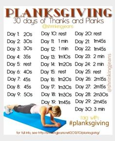 Planks are the best for abs workout. Planksgiving. #thanksgiving #workout.