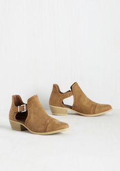 c0ab5863f08a Shooting Stardom Bootie in Brown. After wishing on a star for booties of  celeb-