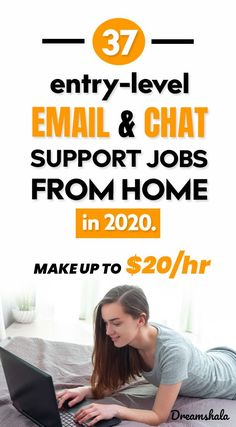 37 entry-level email and chat support jobs from home. Online Work From Home, Work From Home Jobs, Earn Money From Home, Make Money Fast, Online Earning, Earn Money Online, Online Side Jobs, Good Communication Skills, Finding A New Job