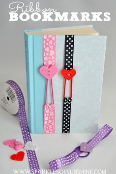 Easy Crafts To Make and Sell - Ribbon Bookmarks - Cool Homemade Craft Projects Y. Easy Crafts To Make and Sell - Ribbon Bookmarks - Cool Homemade Craft Projects You Can Sell On Etsy, at Craft Fairs, Online and in Stores. Easy Crafts To Make, Homemade Crafts, Fun Crafts, Amazing Crafts, Craft Fair Ideas To Sell, Kids Crafts To Sell, Summer Crafts, Simple Crafts, Light Crafts