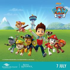 ANNOUNCEMENT: NEW ADDITION to the children's entertainment this Saturday at Royal Randwick! Joining the pony rides face painting animal farm Teenage Mutant Ninja Turtles I Love Bubbles Stage Show and roving characters we welcome PAW PATROL to Ranwdick Community Race Day! #royalrandwick #pawpatrol #communityday #theraces #pawpatrolparty #familyfun        Paw Patrol Sky Party Cake Toy