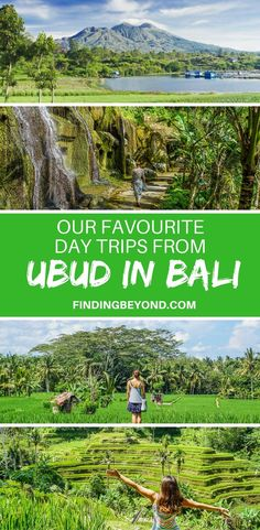 Check out 8 of our favourite amazing and wonderful day trips from Ubud in Bali. From cascading waterfalls to mountain peaks, it's all here. Ubud, Bali Travel Guide, Asia Travel, Travel Tips, Gunung Leuser National Park, Koh Lanta Thailand, Vietnam, Best Of Bali, Temple Bali