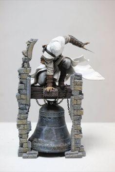 Estatua Altair: el legendario asesino 28 cm. Assassin's Creed. Ubisoft Preciosa estatua fabricada en material de PVC perteneciente al videojuego Assassin's Creed, de su protagonista llamado Altair: el legendario asesino de 28 cm, 100% oficial y licenciada.