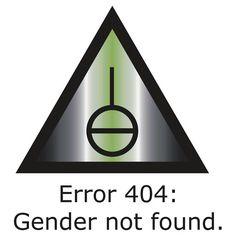 Error 404: Gender Not Found