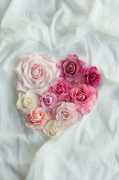 Rose Heart Cake — Lulu's Sweet Secrets
