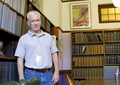 University archivist Kevin B. Leonard spends his days chronicling Northwestern's history in Deering Library.