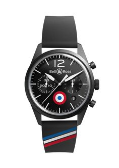 Collection Vintage Vintage BR - Bell & Ross  Bell & Ross designed the Vintage BR 126 Insignia (special edition of the Vintage BR 126 Original Carbon) to pay tribute to air forces enrolled in World War II.  #PrestigeGallery #Bell&RossIran #SamCenter