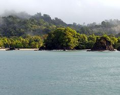 Manuel Antonio National Park beach from The Ocean